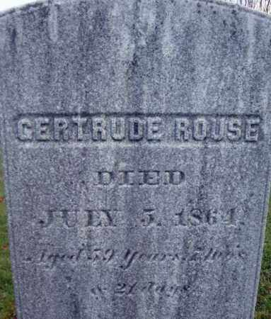 ROUSE, GERTRUDE - Columbia County, New York | GERTRUDE ROUSE - New York Gravestone Photos