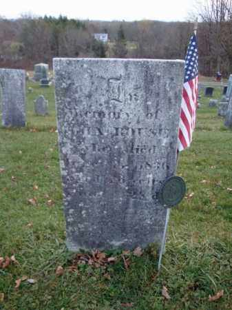 ROUSE (RW), JOHN - Columbia County, New York | JOHN ROUSE (RW) - New York Gravestone Photos