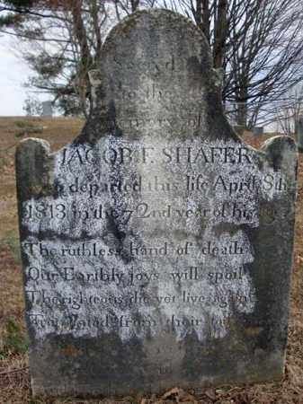 SHAFER, JACOB F - Columbia County, New York | JACOB F SHAFER - New York Gravestone Photos
