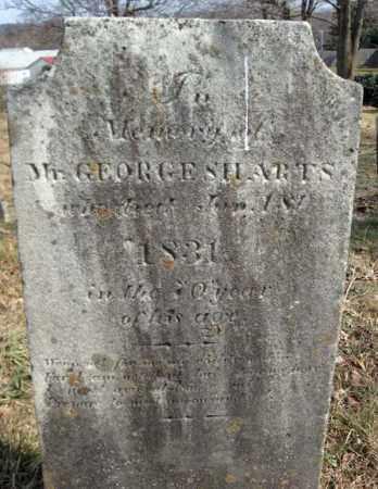 SHARTS, GEORGE - Columbia County, New York   GEORGE SHARTS - New York Gravestone Photos