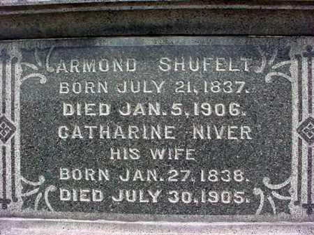 SHUFELT, ARMOND - Columbia County, New York | ARMOND SHUFELT - New York Gravestone Photos