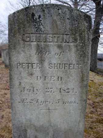 SHUFELT, CHRISTINA - Columbia County, New York | CHRISTINA SHUFELT - New York Gravestone Photos