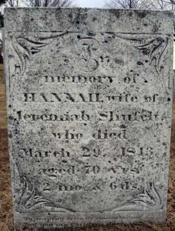 SHUFELT, HANNAH - Columbia County, New York | HANNAH SHUFELT - New York Gravestone Photos
