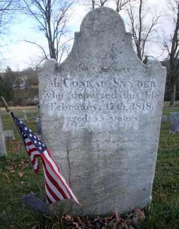 SNYDER (RW), CONRAD - Columbia County, New York | CONRAD SNYDER (RW) - New York Gravestone Photos