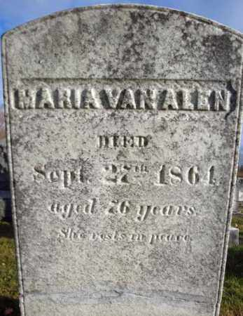VAN ALEN, MARIA - Columbia County, New York   MARIA VAN ALEN - New York Gravestone Photos