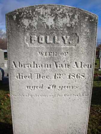 VAN ALEN, POLLY - Columbia County, New York   POLLY VAN ALEN - New York Gravestone Photos