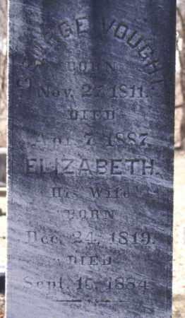 GEHLBACK VOUGHT, ELIZABETH - Columbia County, New York | ELIZABETH GEHLBACK VOUGHT - New York Gravestone Photos