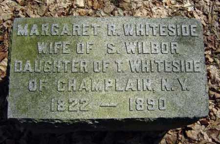 WHITESIDE WILBOR, MARGARET R - Columbia County, New York | MARGARET R WHITESIDE WILBOR - New York Gravestone Photos