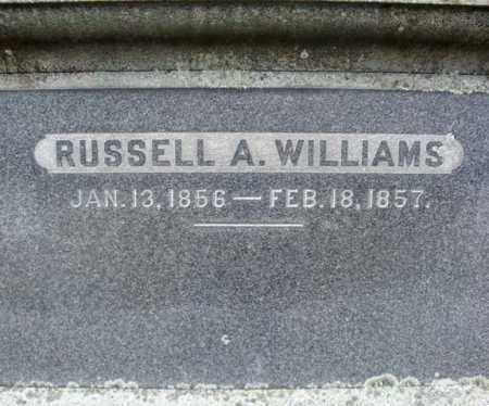 WILLIAMS, RUSSELL A - Columbia County, New York | RUSSELL A WILLIAMS - New York Gravestone Photos