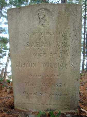 WILLIAMS, SARAH C - Columbia County, New York | SARAH C WILLIAMS - New York Gravestone Photos