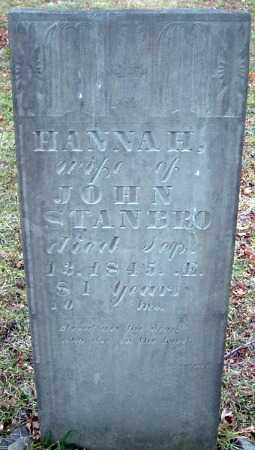 WHITTSLEY STANBRO, HANNAH - Cortland County, New York | HANNAH WHITTSLEY STANBRO - New York Gravestone Photos