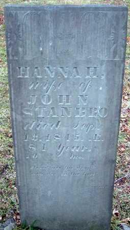 STANBRO, HANNAH - Cortland County, New York | HANNAH STANBRO - New York Gravestone Photos