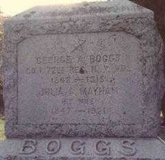 BOGGS, GEORGE A. - Delaware County, New York | GEORGE A. BOGGS - New York Gravestone Photos
