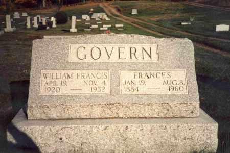 MAYHAM GOVERN, FRANCES F. - Delaware County, New York | FRANCES F. MAYHAM GOVERN - New York Gravestone Photos
