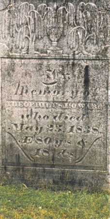 HOWARD, THEOPHILUS - Delaware County, New York | THEOPHILUS HOWARD - New York Gravestone Photos