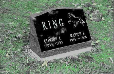 KING, CLINTON L. - Delaware County, New York | CLINTON L. KING - New York Gravestone Photos