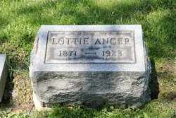 MILLER ANGER, CHARLOTTE - Erie County, New York | CHARLOTTE MILLER ANGER - New York Gravestone Photos