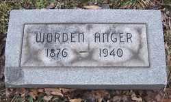 ANGER, WARDEN A. - Erie County, New York | WARDEN A. ANGER - New York Gravestone Photos