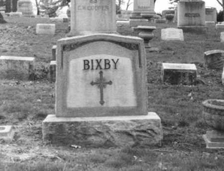 BIXBY, RALPH W. - Erie County, New York | RALPH W. BIXBY - New York Gravestone Photos