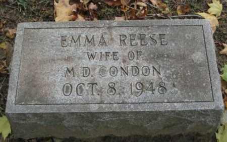 CONDON, EMMA - Erie County, New York | EMMA CONDON - New York Gravestone Photos