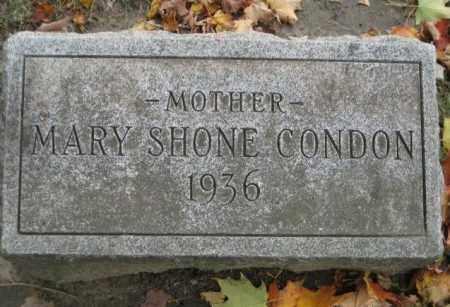 CONDON, MARY - Erie County, New York | MARY CONDON - New York Gravestone Photos