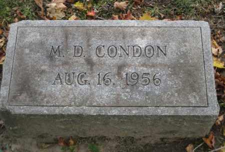 CONDON, MAURICE D. - Erie County, New York | MAURICE D. CONDON - New York Gravestone Photos
