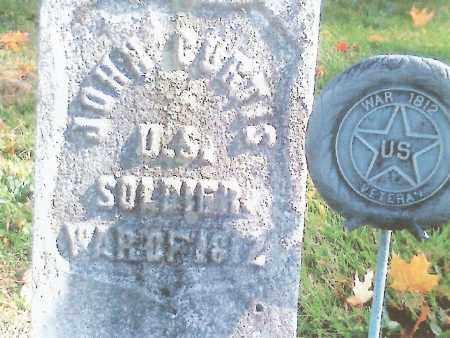 CURTIS (1812), JOHN - Erie County, New York | JOHN CURTIS (1812) - New York Gravestone Photos