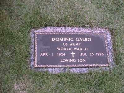 GALBO, DOMINIC - Erie County, New York | DOMINIC GALBO - New York Gravestone Photos