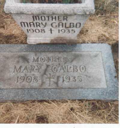 MISTRETTA GALBO, MARY - Erie County, New York | MARY MISTRETTA GALBO - New York Gravestone Photos