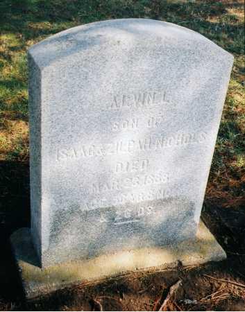 NICHOLS, ALVIN L. - Erie County, New York | ALVIN L. NICHOLS - New York Gravestone Photos