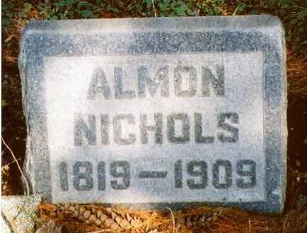 NICHOLS, ALMON - Erie County, New York   ALMON NICHOLS - New York Gravestone Photos