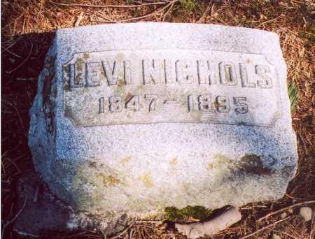 NICHOLS, LEVI - Erie County, New York | LEVI NICHOLS - New York Gravestone Photos