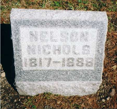 NICHOLS, NELSON - Erie County, New York | NELSON NICHOLS - New York Gravestone Photos