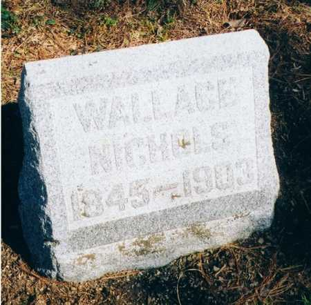 NICHOLS, WALLACE - Erie County, New York | WALLACE NICHOLS - New York Gravestone Photos