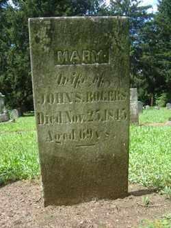 DAVIS ROGERS, MARY - Erie County, New York | MARY DAVIS ROGERS - New York Gravestone Photos