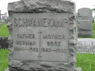 SCHWANEKAMP, HERMAN - Erie County, New York | HERMAN SCHWANEKAMP - New York Gravestone Photos