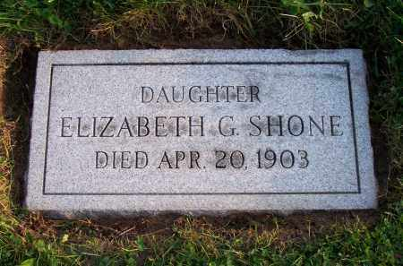 SHONE, ELIZABETH G. - Erie County, New York | ELIZABETH G. SHONE - New York Gravestone Photos