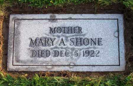 SHONE, MARY A. - Erie County, New York | MARY A. SHONE - New York Gravestone Photos