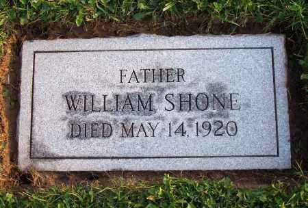 SHONE, WILLIAM M. - Erie County, New York | WILLIAM M. SHONE - New York Gravestone Photos