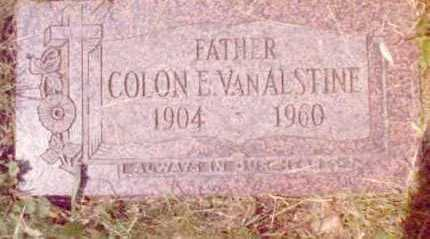 VAN ALSTINE, COLON - Erie County, New York | COLON VAN ALSTINE - New York Gravestone Photos