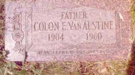VAN ALSTINE, COLON - Erie County, New York | COLON VAN ALSTINE - New York Gravestone Photos