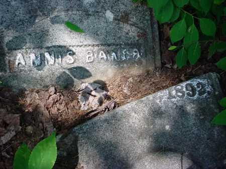 BAKER, ANNIS - Essex County, New York | ANNIS BAKER - New York Gravestone Photos