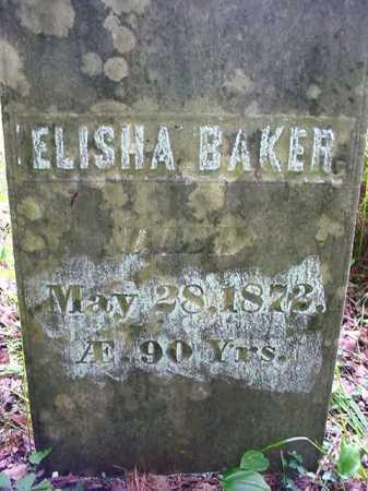 BAKER, ELISHA - Essex County, New York   ELISHA BAKER - New York Gravestone Photos