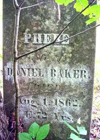 TRIPP BAKER, PHEBE - Essex County, New York | PHEBE TRIPP BAKER - New York Gravestone Photos