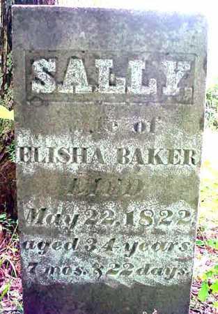 BAKER, SALLY - Essex County, New York | SALLY BAKER - New York Gravestone Photos
