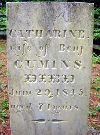CUMINS, CATHARINE - Essex County, New York | CATHARINE CUMINS - New York Gravestone Photos