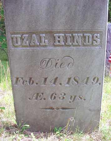 HINDS, UZAL - Essex County, New York | UZAL HINDS - New York Gravestone Photos