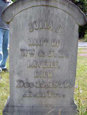 LAVERY, JULIA L - Essex County, New York | JULIA L LAVERY - New York Gravestone Photos