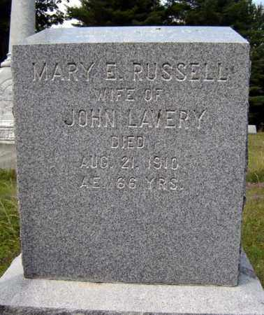 LAVERY, MARY E - Essex County, New York | MARY E LAVERY - New York Gravestone Photos
