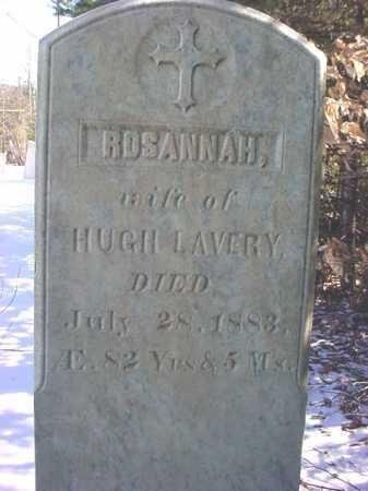 LAVERY, ROSANNAH - Essex County, New York   ROSANNAH LAVERY - New York Gravestone Photos